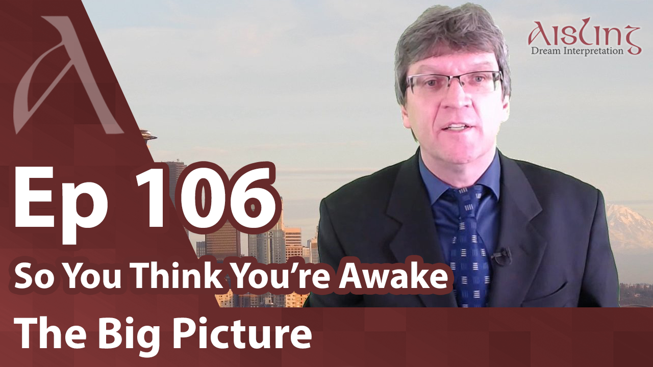 E106, A Dream from the Bible! Elevators, Crows and Donald Trump in dreams