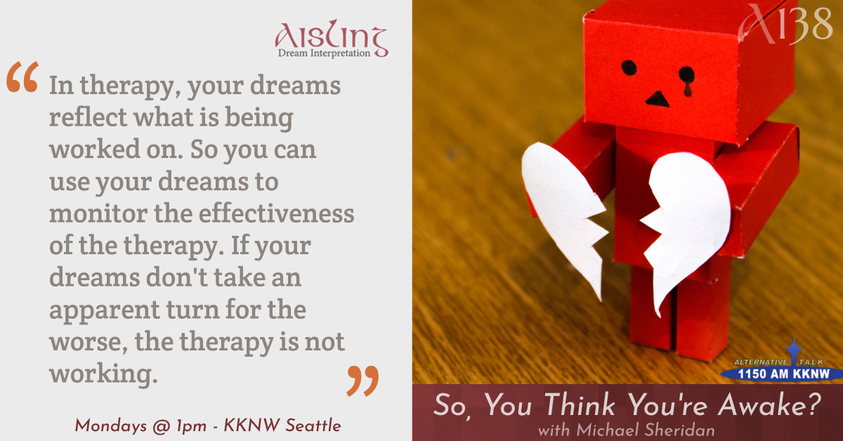 How Dreams Change When Undergoing Therapy