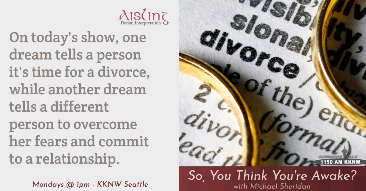 How a dream tells you to divorce