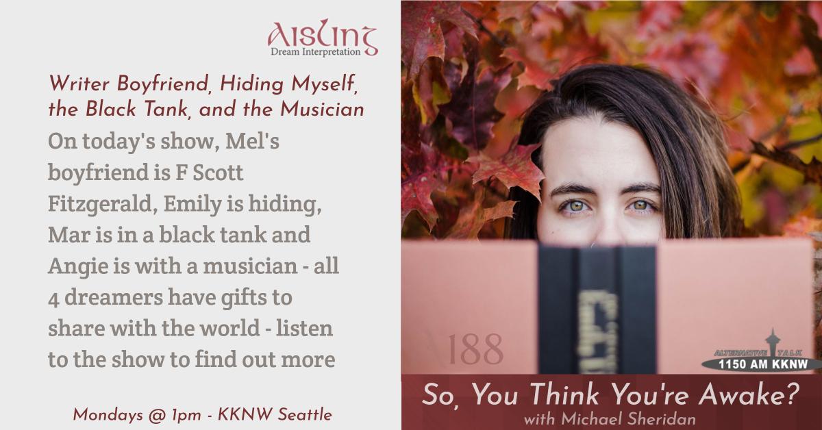 Writer Boyfriend, Hiding Myself, the Black Tank, and the Musician