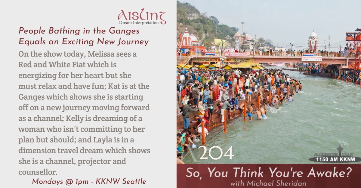 People Bathing in the Ganges Equals an Exciting New Journey